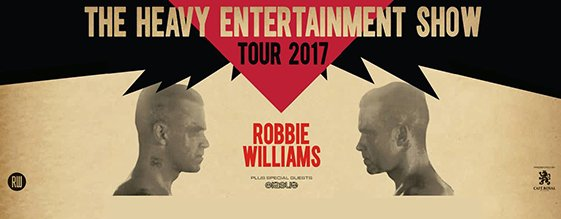 ROBBIE WILLIAMS am 26.06.2017