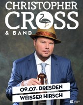CHRISTOPHER CROSS & BAND am 09.07.2017 in Dresden, Alter Schlachthof