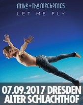 MIKE + THE MECHANICS am 07.09.2017 in Dresden, Alter Schlachthof