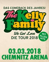 THE KELLY FAMILY am 03.03.2018 in Chemnitz, Arena
