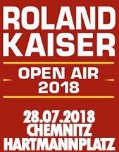 ROLAND KAISER & BAND - OPEN AIR 2018 am 28.07.2018 in Chemnitz, Arena am Hartmannplatz