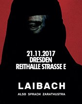 LAIBACH am 21.11.2017 in Dresden, REITHALLE STRASSE E