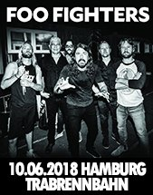 FOO FIGHTERS am 10.06.2018 in Hamburg, Trabrennbahn Hamburg Bahrenfeld