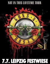 GUNS N' ROSES am 07.07.2018 in Leipzig, Festwiese