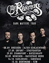THE RASMUS am 26.09.2018 in Dresden, Alter Schlachthof