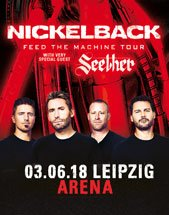 NICKELBACK am 03.06.2018 in Leipzig, Arena