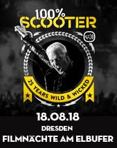 SCOOTER am 18.08.2018 in Dresden, Filmnächte am Elbufer