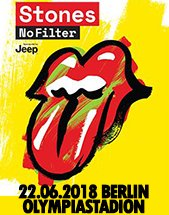 THE ROLLING STONES am 22.06.2018 in Berlin, Olympiastadion