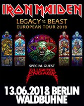 IRON MAIDEN am 13.06.2018 in Berlin, Waldbühne