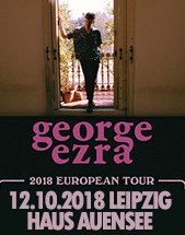 GEORGE EZRA am 12.10.2018 in Leipzig, Haus Auensee