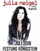 JULIA NEIGEL & BAND am 14.07.2018 in Königstein, Festung