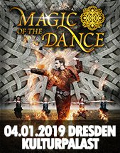 MAGIC OF THE DANCE – die Original Irish Dance Show am 04.01.2019 in Dresden, Konzertsaal im Kulturpalast Dresden