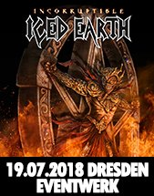 ICED EARTH am 19.07.2018 in Dresden, EVENTWERK