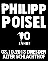 PHILIPP POISEL am 08.10.2018 in Dresden, Alter Schlachthof