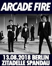ARCADE FIRE am 13.08.2018 in Berlin, Zitadelle Spandau