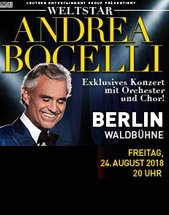 ANDREA BOCELLI am 24.08.2018 in Berlin, Waldbühne