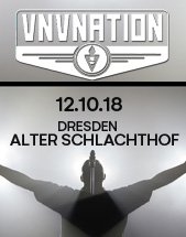 VNV NATION am 12.10.2018 in Dresden, Alter Schlachthof