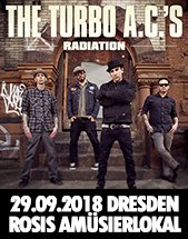 THE TURBO A.C.'S am 29.09.2018 in Dresden, Rosis Amüsierlokal