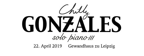 CHILLY GONZALES am 22.04.2019