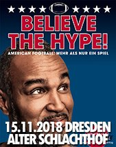COACH ESUME - Believe the Hype am 15.11.2018 in Dresden, Alter Schlachthof