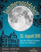 SOMMERNACHTSBALL am 25.08.2018 in Dresden, Ball- & Brauhaus Watzke