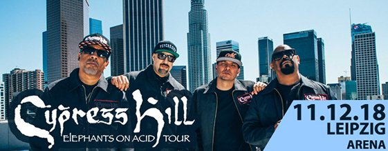 CYPRESS HILL am 11.12.2018