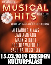 Die Grössten Musical Hits Aller Zeiten Am 15032019 Konzertsaal Im