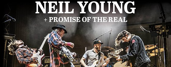 NEIL YOUNG + Promise Of The Real am 02.07.2019