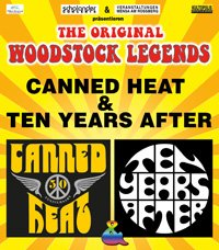 CANNED HEAT & TEN YEARS AFTER - Legends of Woodstock