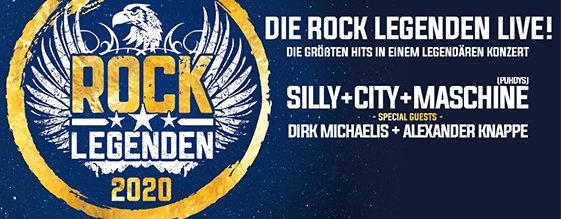 ROCK LEGENDEN 2020 am 25.06.2020