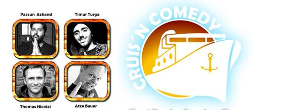 CRUIS'N COMEDY - Der Comedy-Dampfer am 08.08.2019