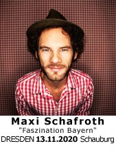 Maxi Schafroth am 19.11.2021 in Dresden, Filmtheater SCHAUburg