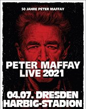 PETER MAFFAY & BAND am 04.07.2021 in Dresden, Rudolf-Harbig-Stadion