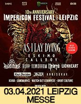 IMPERICON FESTIVAL 2020 am 03.04.2021 in Leipzig, Messehalle