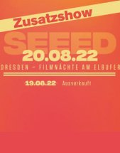 SEEED am 20.08.2022 in Dresden, Filmnächte am Elbufer